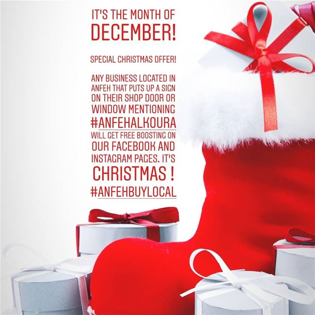 It's the month of December!Special Christmas offer!Any business... (Lebanon)