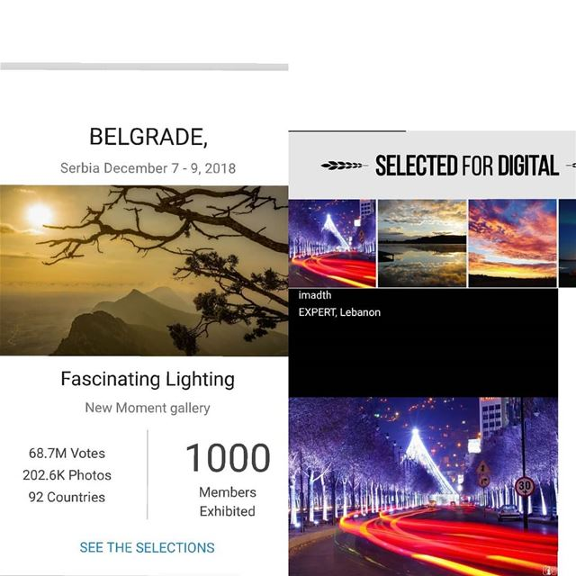 Selected for digital exhibition in belgrade serbia gurushots ...