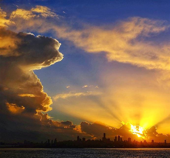 lebanon sunset beirut sky sun sunsets insta instagood instapic ...