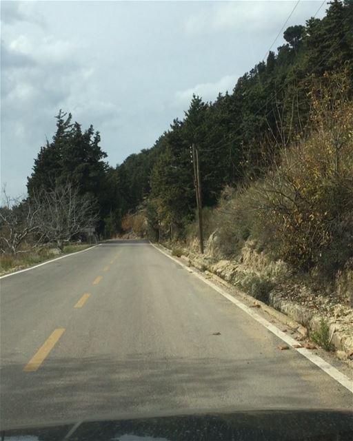🍂🍂Autumn drives🍂🍂 a7labaladbil3alam 🇱🇧..... photo love ... (Ehden, Lebanon)