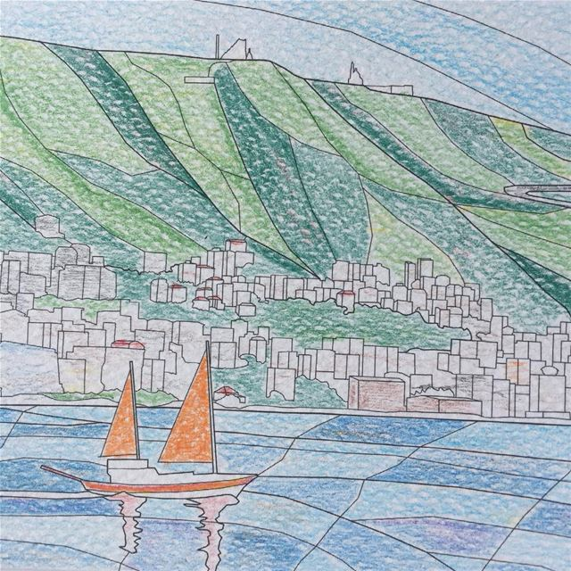The latest fun item for this year...color your own views of Lebanon!!!we... (Joünié)