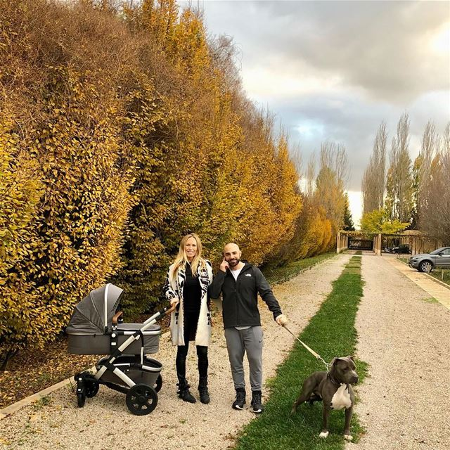Loving the fresh Autumn air & seeing our baby boy Brock 🐨🍁🍂 and Ayva's @ (`Anjar, Béqaa, Lebanon)