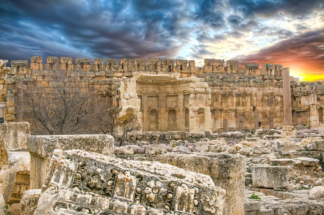 The largest and most noble Roman temples ever built, they are also among... (Baalbek, Lebanon)