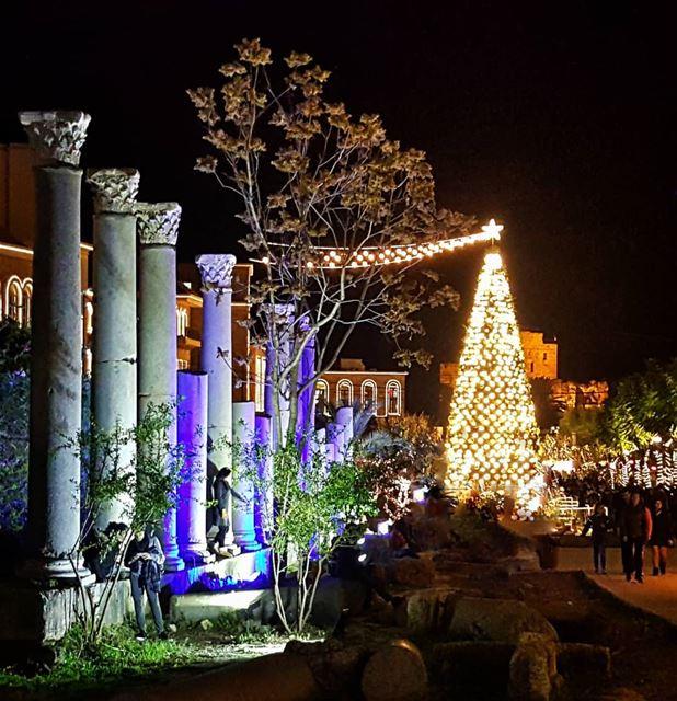 jbeil byblosiloveyou byblos livelovebyblos jbail christmas ... (Byblos - Jbeil)