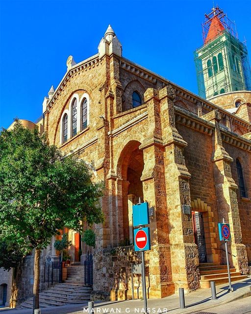 The St. Louis Cathedral, also Saint Louis Capuchin Cathedral is a Latin... (St. Louis Cathedral, Beirut)