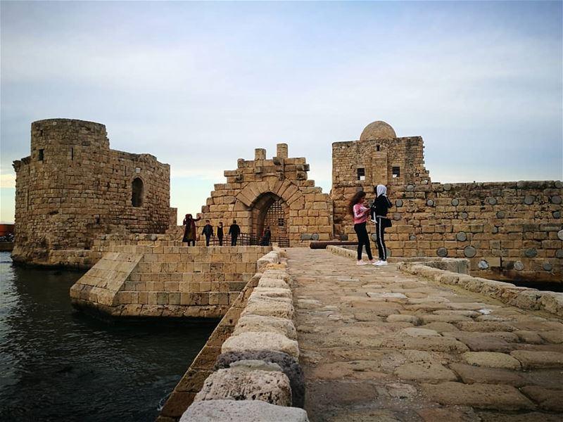 citadel Ruins Saida Sidon South ... (Saïda, Al Janub, Lebanon)