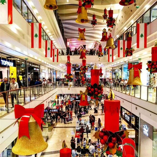 "Christmas is a season not only of rejoicing, but of reflection."" ―Winston... (City Centre Beirut)"