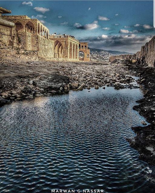 batroun البترون_سفرة phoenician wall batrounbeach batrouncoast sea ... (Phoenician Wall)
