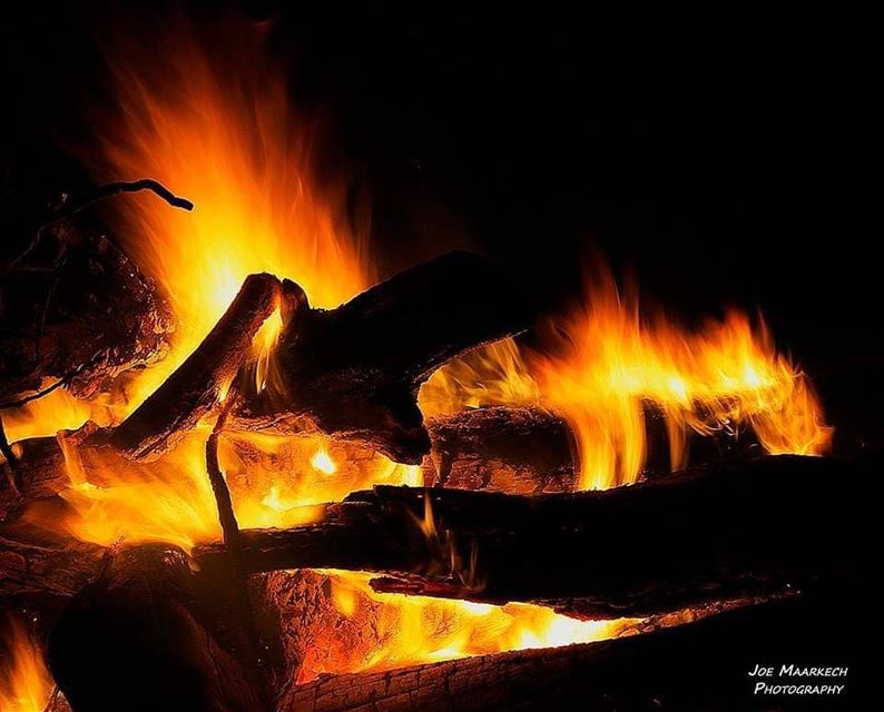 Light my fire... light fire camping cold lebanon igers photography ...