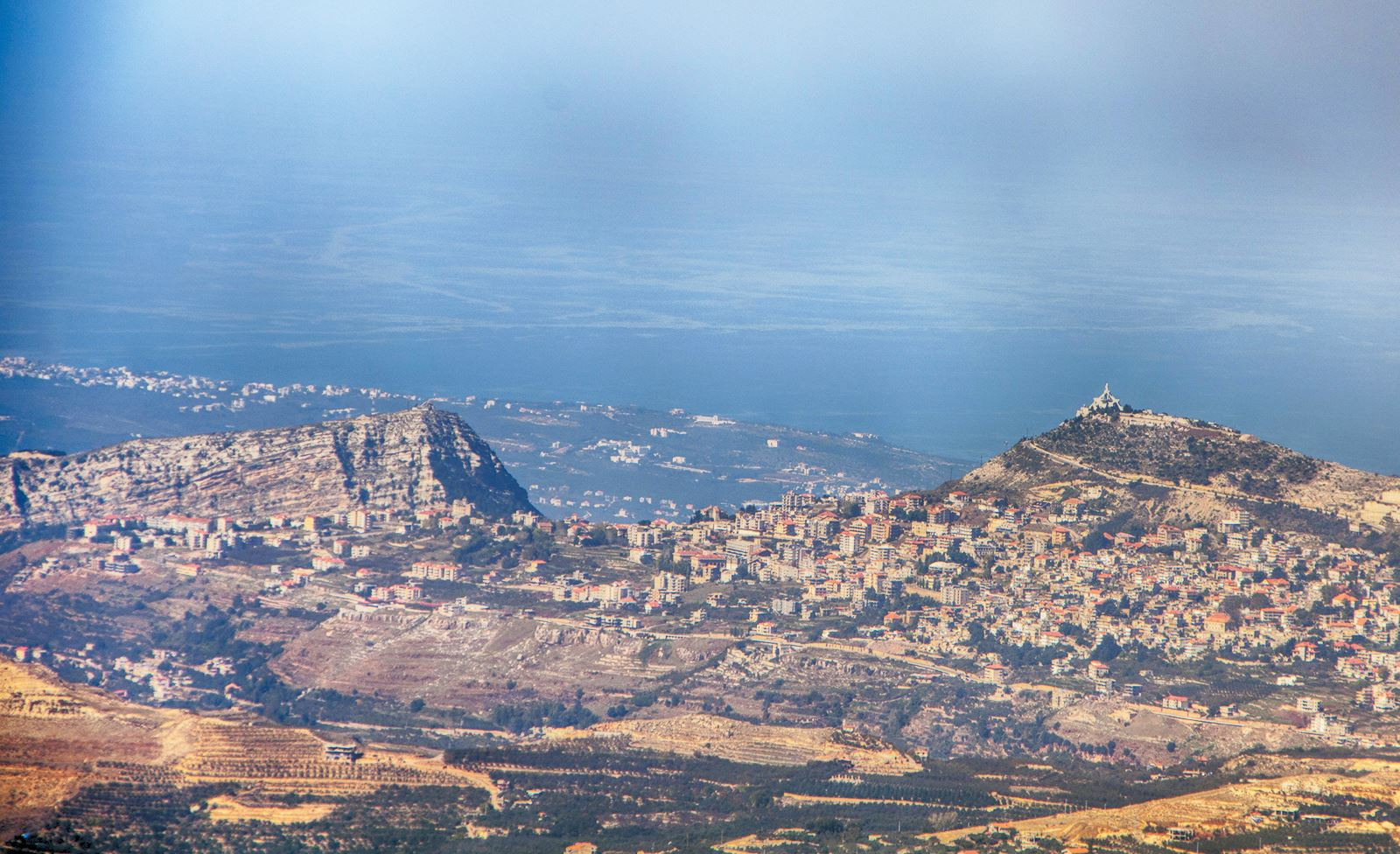 Ehden as seen from the Road to the Black Peak