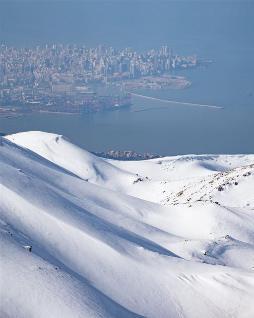 🇱🇧🇧🇷 Sim, não é mito! No Líbano você pode esquiar e nadar no mar... (Lebanon)