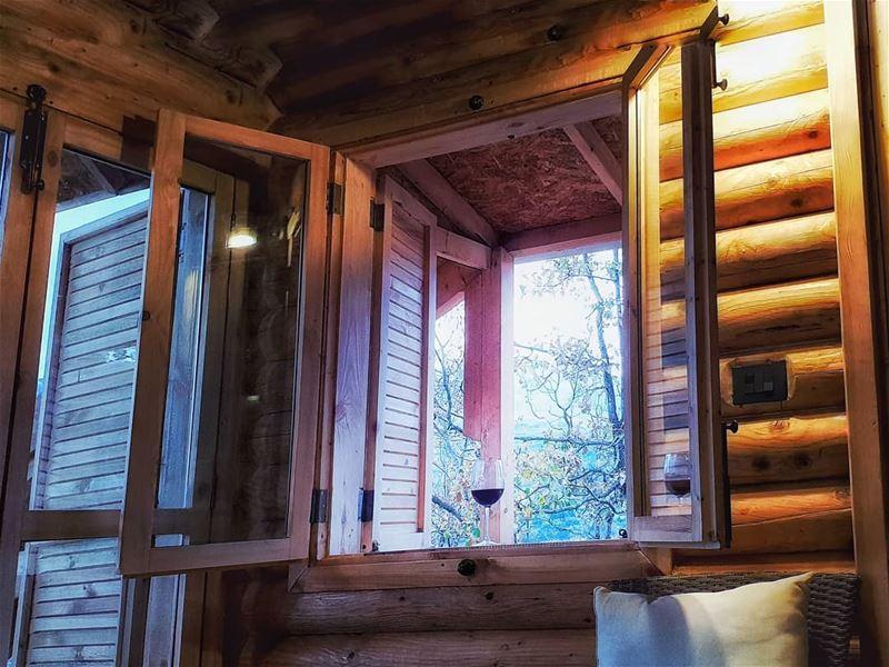 nature wine cabane wood ... (Lebanon)