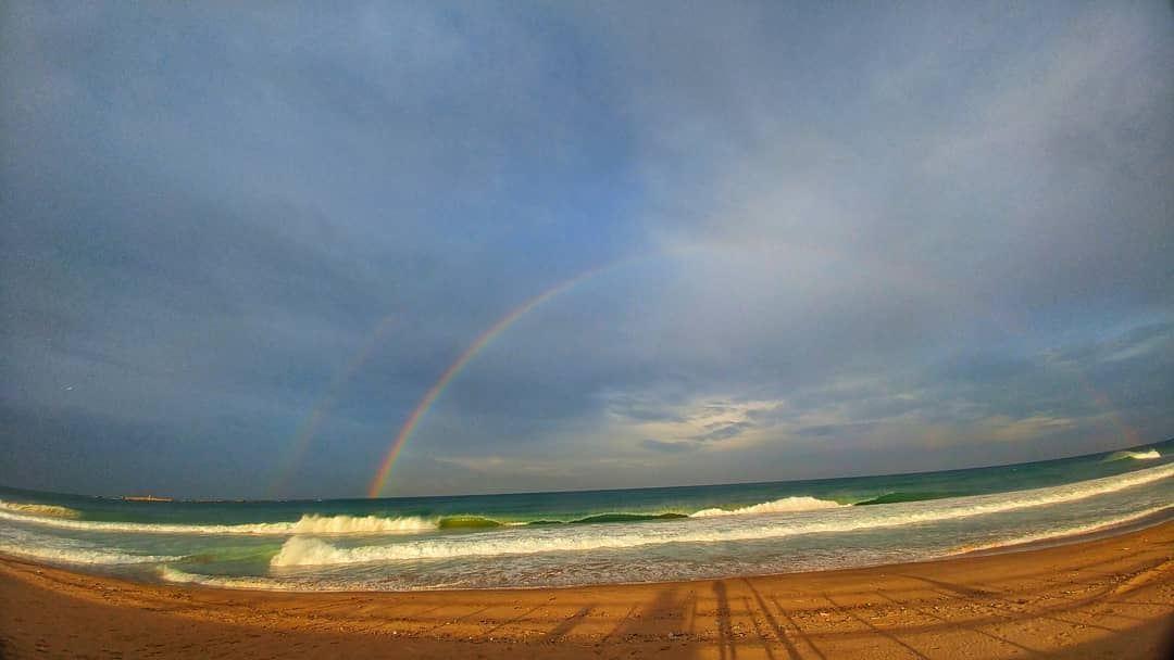 Good Morning Double Trouble🌈💙.......... insta_lebanon ... (Sidon, Lebanon)