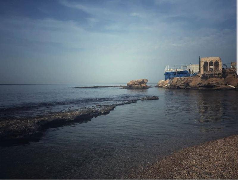 batroun البترون_سفرة bahsa beach sea mediterraneansea batrounbeach ... (Batroûn)