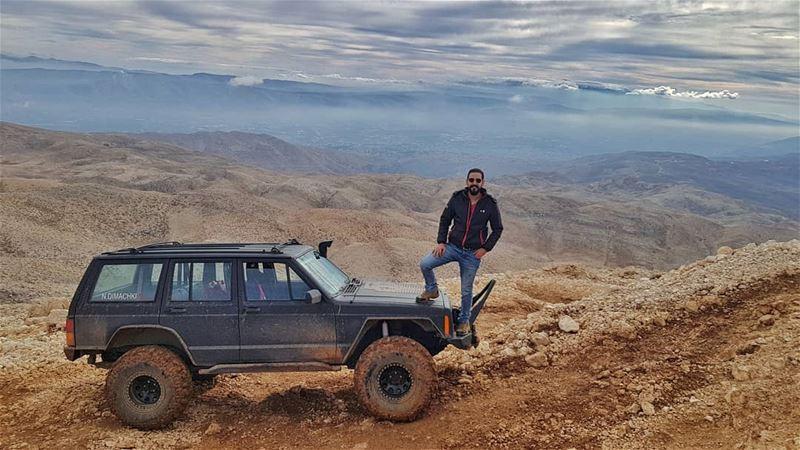 jeep xj sannie lebanon nofilter whatsuplebanon jeepbeef fun 4x4 lebanese... (Sannin, Mont-Liban, Lebanon)