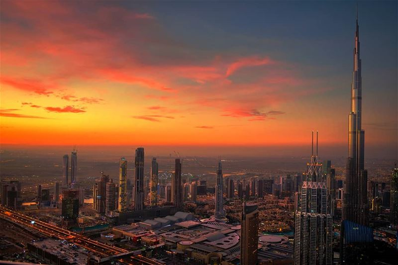 Good morning Sunshine - Dubai.... sun sunset sunny ... (Dubai, United Arab Emirates)