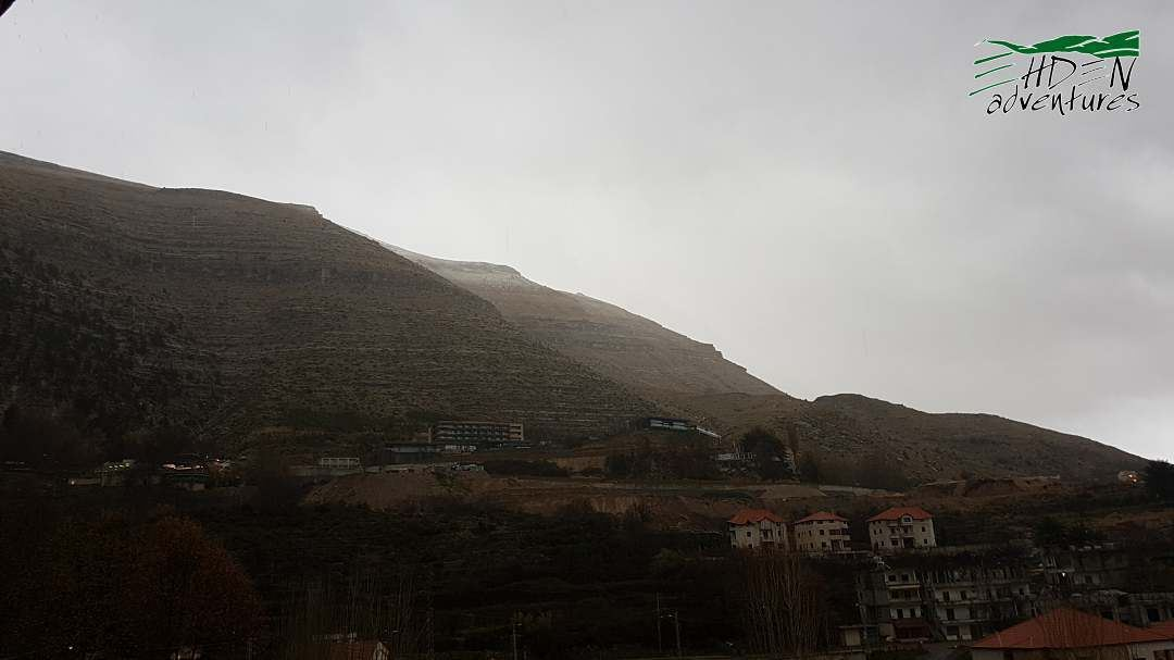 Finally some snow at 2000m snow ehden lebanon ... (Ehden, Lebanon)