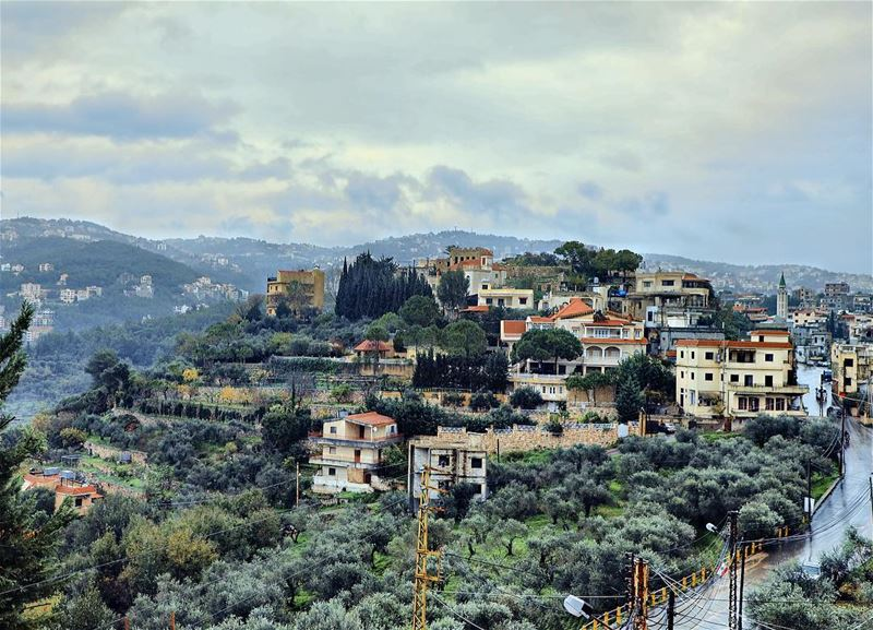 Dalhoun and the winter 🌧 Dalhoun Home winter rain cold Lebanon ... (Dalhoûn, Mont-Liban, Lebanon)