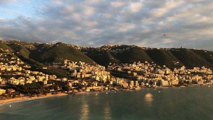 NOW 🇱🇧 Bahía de Jounieh Lebanon    Travel Mar MediterraneanSea ... (Lebanon)