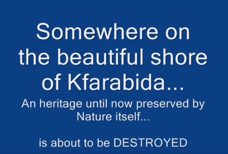 SAVE THE CAVES of Kfarabida Video
