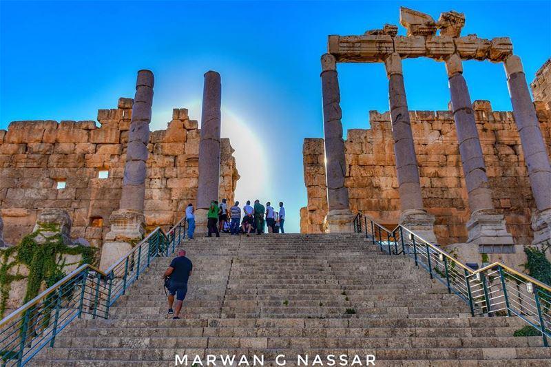 Stairway to Heaven......📍 Heliopolis, Baalbeck, Bekaa Valley, Lebanon... (Baalbeck, Béqaa, Lebanon)