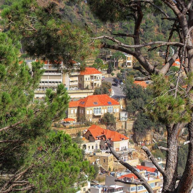 صباح الخير من ضهور الشوير 😍Photo taken by @micheline.fares lebanon ... (Dhour choueir)