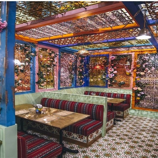 I just love our new secret garden @comptoirlibanais in London bridge. It... (London Bridge)