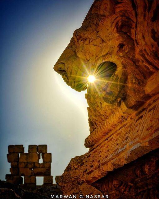 By @marwan.g.nassarGreatness, Power and Royalty Baalbeck IloveBaalbeck ... (Baalbek, Lebanon)