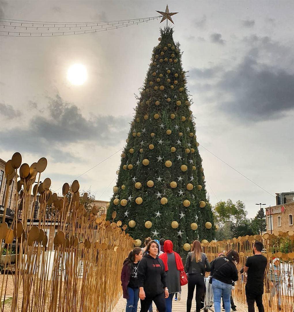 Best season🎄🇱🇧❤ christmastree christmasseason decoration star sun ... (Byblos - Jbeil)