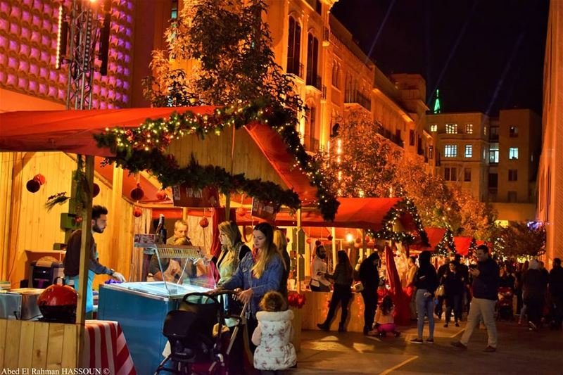 There are lots of love & joy in every Christmas market I've... (Beirut Souks   اسواق بيروت)