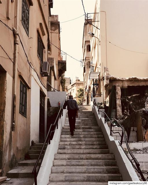 Don't just Walk the Walk or Talk the Talk. . urban ... (Achrafieh, Lebanon)