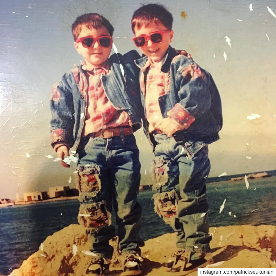 My Rock 😎 CoolKids. throwback throwbackthursday tht photooftheday ... (Beirut, Lebanon)