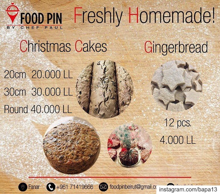 Christmas  cakes  gingerbreadcookies  christmascakes  Foodpin  Fanar ...
