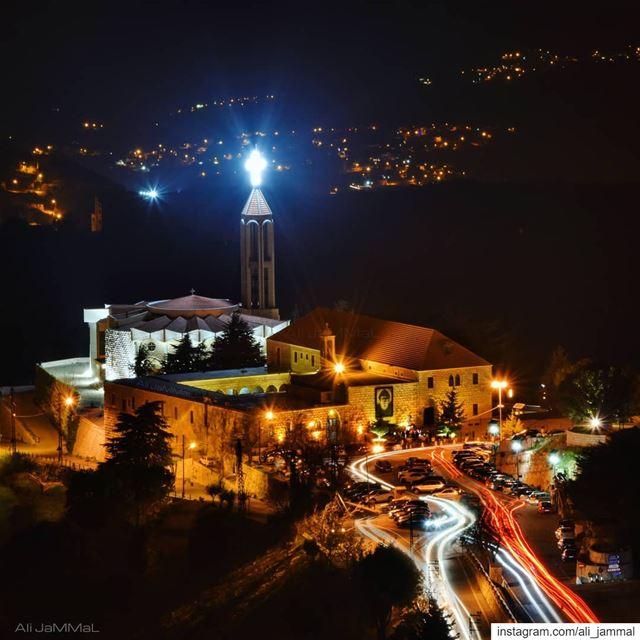Merry Christmas merrychristmas christmas lebanon beirut marcharbel ... (مار شربل - عنايا)