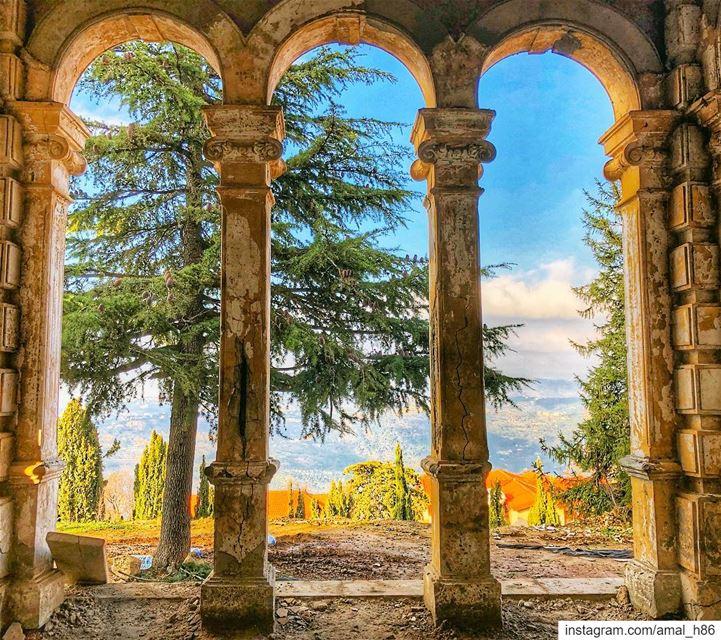 Après la pluie le beau temps!——————————————————— super_lebanon ... (Donna Maria Sursock Gardens)