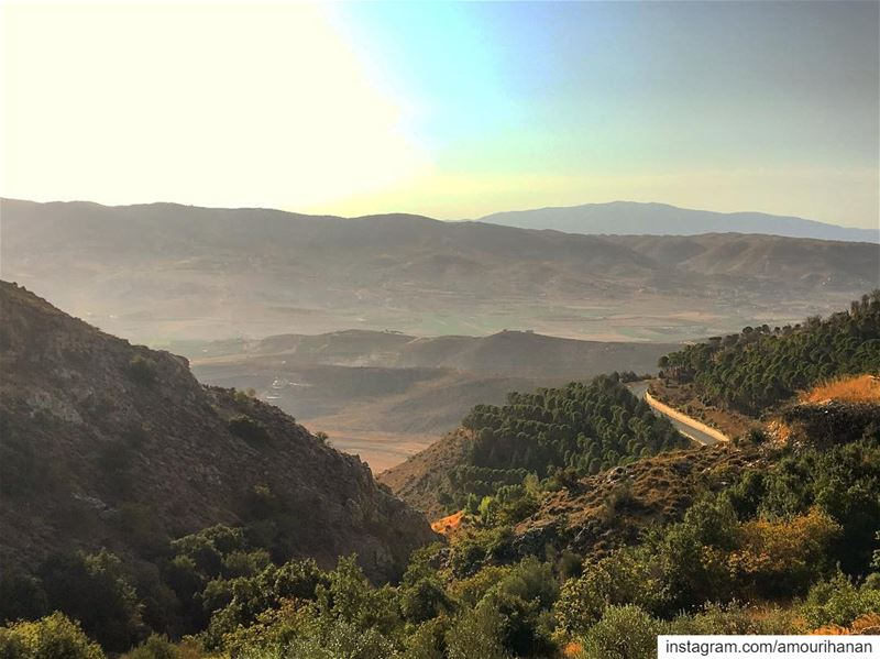 The most beautiful morning ❤️My🌎...my village October morning village... (Aïn Zebdé, Béqaa, Lebanon)