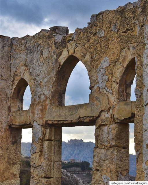 Some unforgettable memories frame our present & are the window through... (El Qlaïaâ, Al Janub, Lebanon)