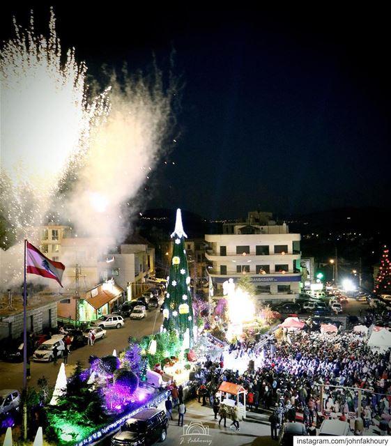 Shining hometown 🌲 (Marjayoûn, Al Janub, Lebanon)