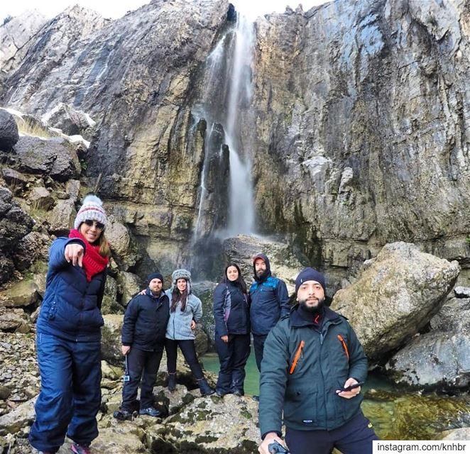 A refreshing start to the new year hiking chasingwaterfalls snowhike ...