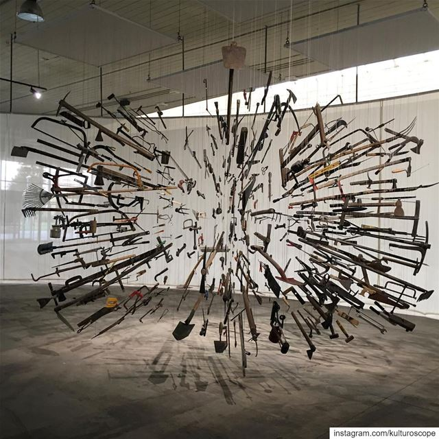 "Controller of the Universe, 2007,  by Damián Ortega. ""Cycles of Collapsing... (Rachid Karami International Fair)"