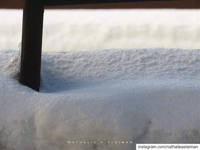 snow grain flakes snowflakes details stormyday insta_lebanon ... (Lebanon)