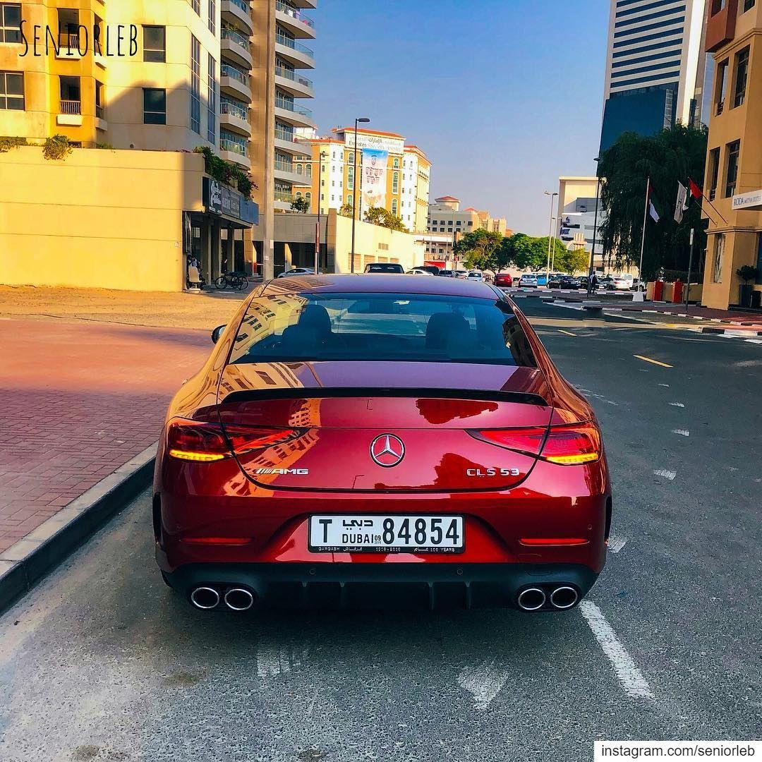 New shape, new details, elegancy and sophistication. Mercedes CLS AMG—————— (Dubai, United Arab Emirates)
