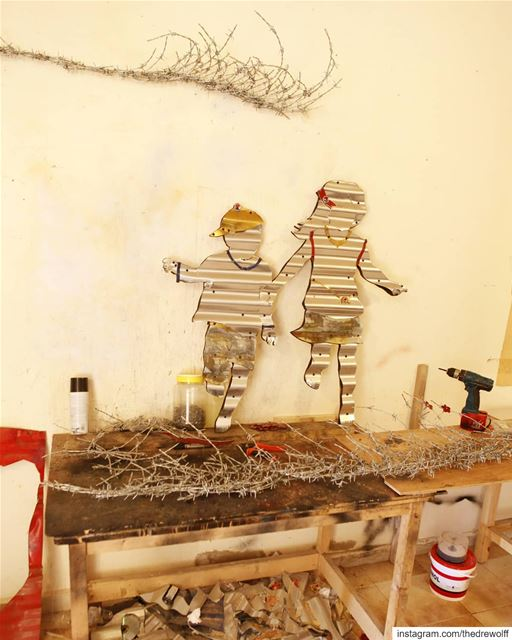 Artist Abdul Rahman Katanani sabra shatila beirut lebanon art ... (Sabra)