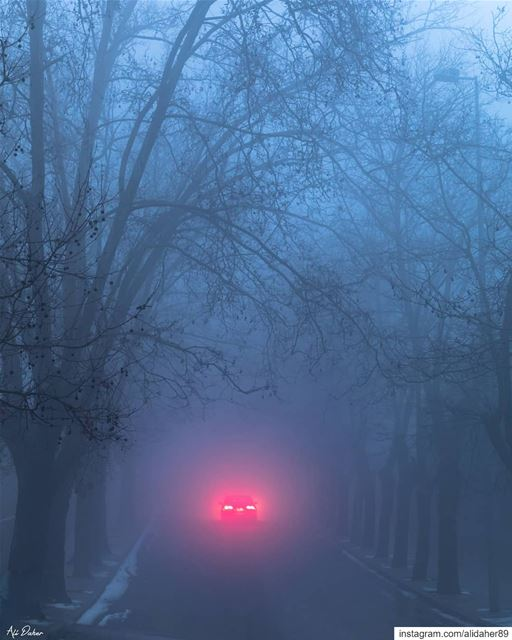 Creepy music fades in out of nowhere...... landscape... (Sawfar, Mont-Liban, Lebanon)