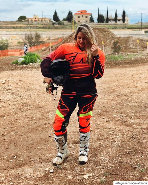 Feelin  InMyElement , can't wait to go again! @motocrossacademy.lb 🧡...