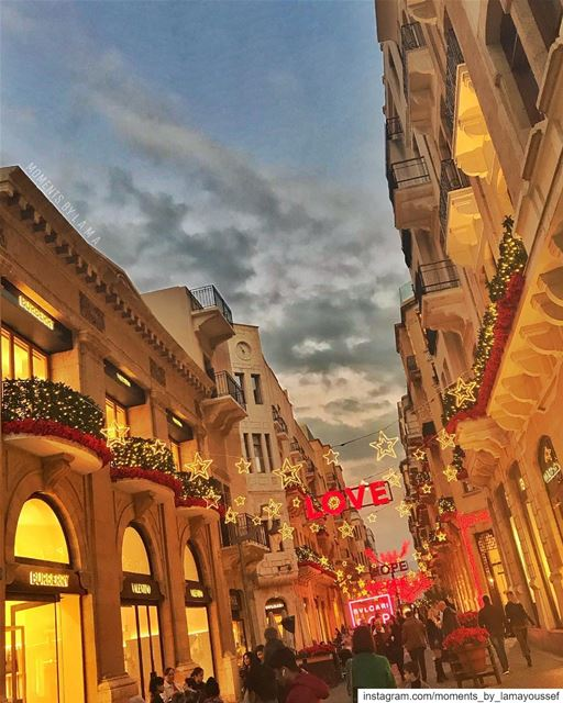 Christmas Vibes 🎄❤️ christmasvibes LAMA_YOUSSEF... (Downtown Beirut)