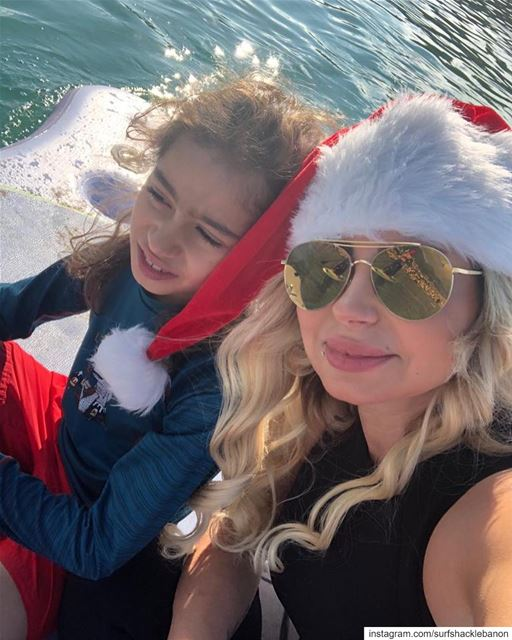 PART 3 - Christmas SUP Parade in Jounieh Bay—We love our community ❤️.... (Jounieh Bay . خليج جونيه)