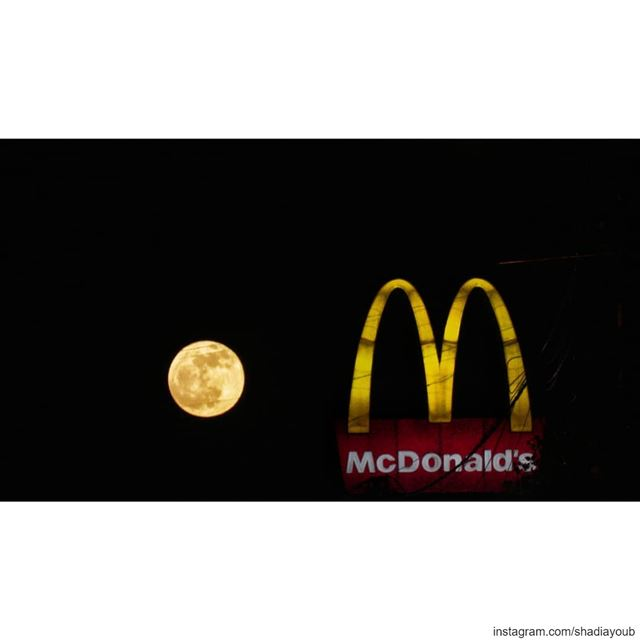 I'm lovin' it. ... (Beirut, Lebanon)