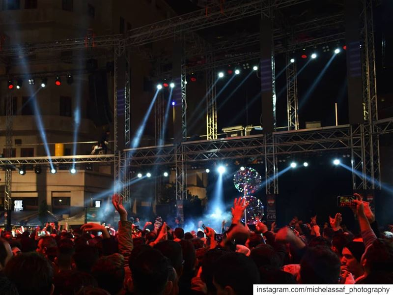 New Year's Eve - Beirut ... nightphotography newyearseve beirut ... (Beirut, Lebanon)