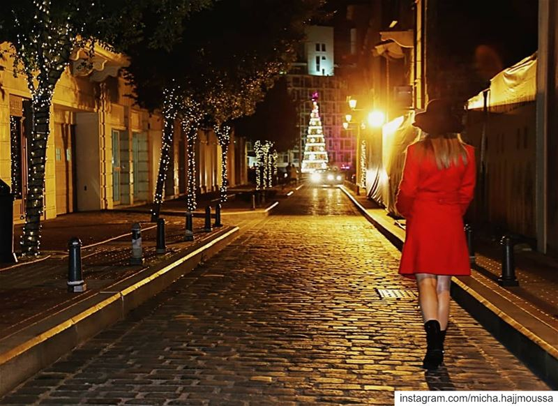 """At Christmas, all roads lead home..."".... christmas spirit ... (Beirut, Lebanon)"
